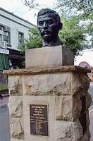 Ashfield 火車站附近的梅光達銅像