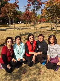 與團契姊妹們遊韓國