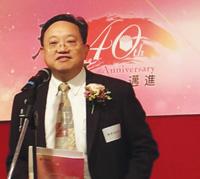 「環球天道」現任總幹事陳肇兆牧師。