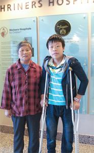 劉朝與奶奶